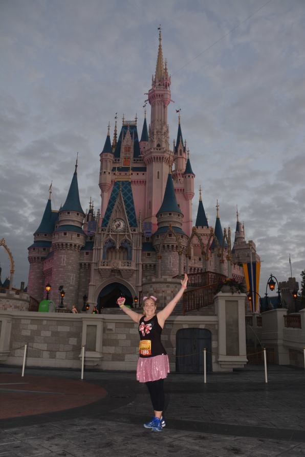 Best photo op of the entire Princess Half!